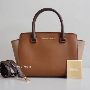MICHAEL KORS CROSSBODY HANDBAG SATCHEL